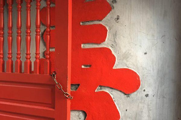 Gate in Hanoi.