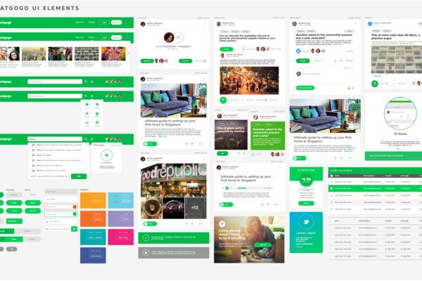 ExpatGoGo UI Kit Version 3